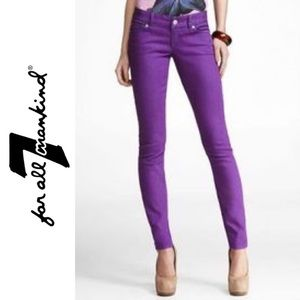 7 for All Mankind Gwenevere Skinny Ankle Jean
